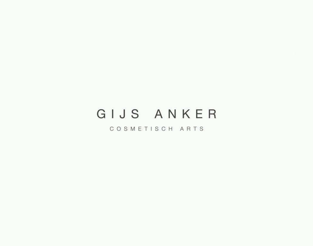 Gijs Anker logo design
