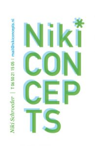 Niki Concepts logo design