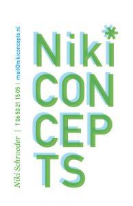 Niki Concepts logo design