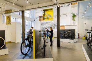 VANMOOF Flagship store Amsterdam | interior photography