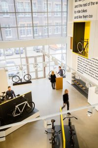 VANMOOF Flagshipstore Amsterdam | interior photography
